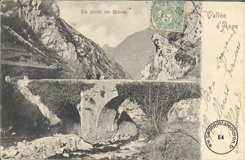 Borce - Le pont